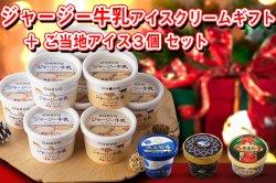 イベント用セット ジャージー牛乳アイスクリームギフト+ご当地アイス3個セット