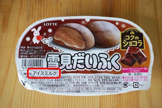 アイスクリームには4種類の名称があります(アイスクリーム、アイスミルク、ラクトアイス、氷菓)【画像12】
