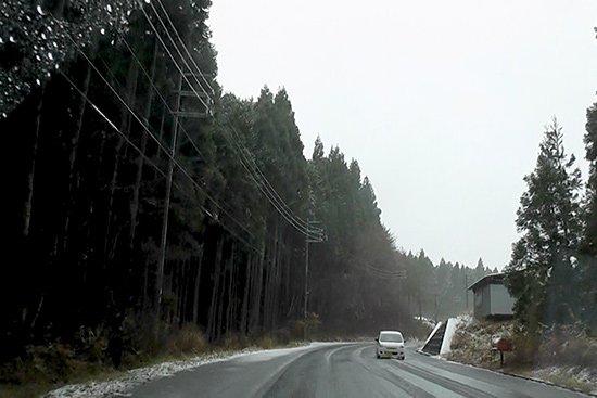 ハチ高原スキー場へアイスの納品 (第一弾)【画像4】