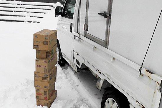 ハチ高原スキー場へアイスの納品 (第一弾)【画像6】