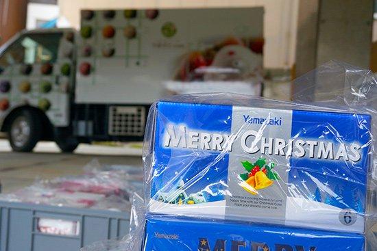 クリスマスは配達でクルシミマス!