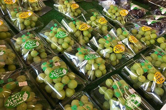季節を感じさせる旬の果物アイス(梨・ぶどう)【画像4】