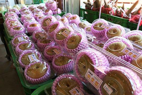 季節を感じさせる旬の果物アイス(梨・ぶどう)【画像7】