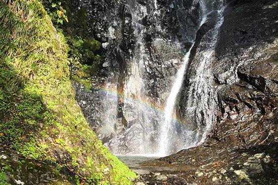 滝百選 猿尾滝で「天使の虹」発見!【画像16】