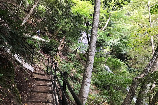 滝百選 猿尾滝で「天使の虹」発見!【画像7】
