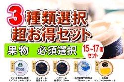 旬の果物 超豪華!3種類選択セット(F.果物必須)