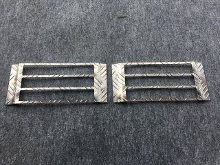 軽トラ テールランプガード キャリイDA63T用 テールランプガード(アルミ縞板)