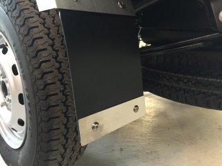 軽トラ用・リアフェンダーカバー ハイゼット 泥除けプレート(ステンレス)長さ158�