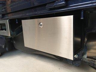 軽トラ用 ステップ・リアコーナー・リア・道具箱カバー DA16Tキャリイ標準車 道具箱カバー(ステンレスヘアライン)
