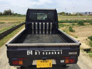 デモカー・保管倉庫 S500P/S510P ハイゼット標準車 アルミ縞板使用