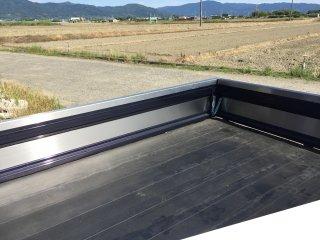 ダイハツ ハイゼットジャンボ用 S500P/510P用ハイゼットジャンボ 荷台あおり内 ステンレスプレート(3辺セット)