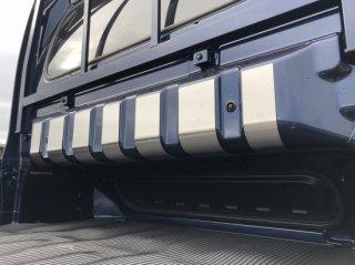 軽トラ用・キャビンバックパネルカバー スーパーキャリイ DA16T用 キャビンバックパネル上カバー(ステンレス)