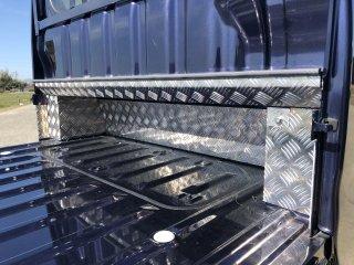 ハイゼットジャンボS500P/S510P用 キャビンバックパネル下カバーフルキット(アルミ縞板)