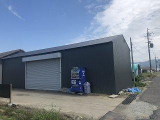 2019/9/18 保管倉庫補修完了