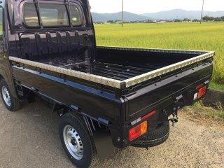 S500P/S510P用ハイゼット標準 あおりアルミ縞板カバー(3辺セット)