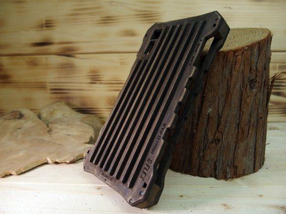 Xperia XZs ウッドケース バンパー  耐衝撃 タフケース  ミリタリー ハンドメイド  木製 木のケース  TYPE…