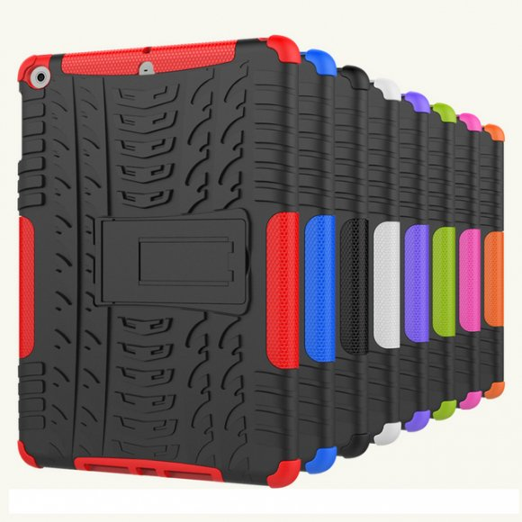 iPad 2018 / 2017 耐衝撃 ケース タフケース シリコン ミリタリー シンプル アイパッド 9.7インチ  アウトドアケース カバー