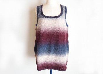 Kauni yarnで編むジャンスカ風チュニック パターン