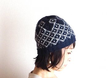 <img class='new_mark_img1' src='https://img.shop-pro.jp/img/new/icons14.gif' style='border:none;display:inline;margin:0px;padding:0px;width:auto;' />『Sea Weaves Hat』キット