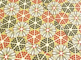 花てまり 赤  A3×5枚セット