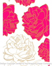 205 Peony Pink 50cm巾