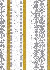 020 ゴールド&シルバーレース 61cm巾