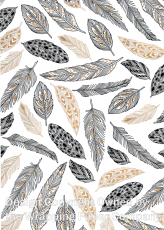219 Feathers Gold 50cm巾<img class='new_mark_img2' src='https://img.shop-pro.jp/img/new/icons16.gif' style='border:none;display:inline;margin:0px;padding:0px;width:auto;' />