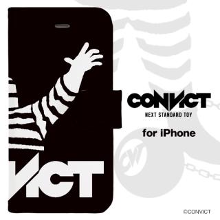 CONVICT 手帳型iPhoneケース