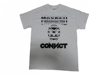 MASKED REPUBLIC×CONVICT コラボレーションTシャツ WHITE