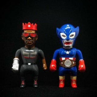 NEXT LEVEL TOYS The Great Martial Artist Series-Fight Of The Century Set America Hero Color Ver.