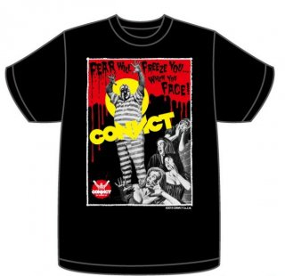 CONVICT MONSTER Tシャツ BLACK