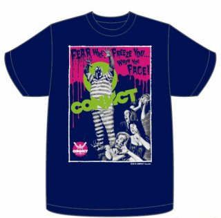CONVICT MONSTER Tシャツ NAVY