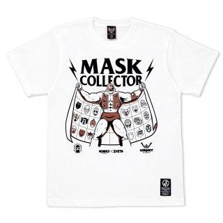 キン肉マン×CONVICT 5周年記念Tシャツ マスクコレクター WHITE