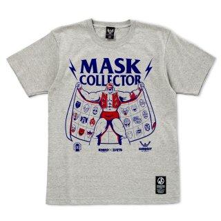キン肉マン×CONVICT 5周年記念Tシャツ マスクコレクター GRAY