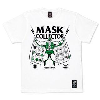 キン肉マン×CONVICT 5周年記念Tシャツ マスクコレクター WHITE ver.2
