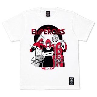 キン肉マン×CONVICT 5周年記念Tシャツ ジ・エンペラーズ WHITE