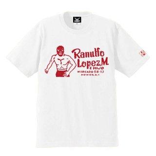 ロペス×コンビクト コラボレーションTシャツ WHITE