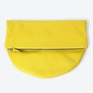MAISON MARTIN MARGIELA LEATHER CLUTCH BAG