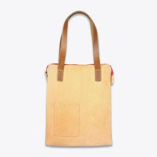 KIKA NY LEATHER TOTE BAG