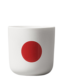 Red Glyphs Mug Collection