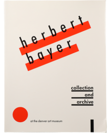 Herbert Bayer collection and archive at the Denve