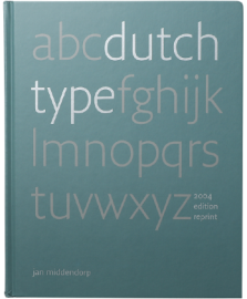 【再入荷】Dutch Type (Reprint)