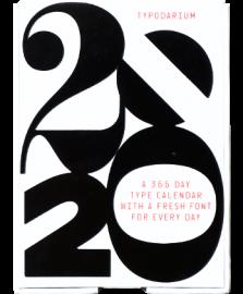 日めくりタイポカレンダー Typodarium 2020