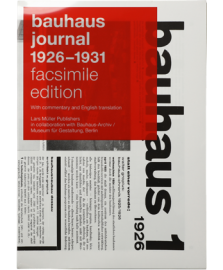 【再入荷】bauhaus journal 1926 - 1931