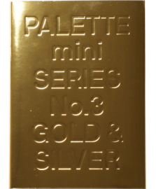 【再入荷】Pallete Mini Series 03:Gold&Silver