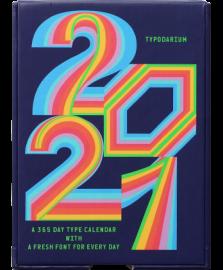 日めくりタイポカレンダー Typodarium 2021