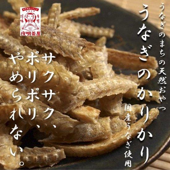 柳川名物 うなぎカリカリ (うなぎボーン) 70g 塩味 土用の丑の日 レターパック対象商品