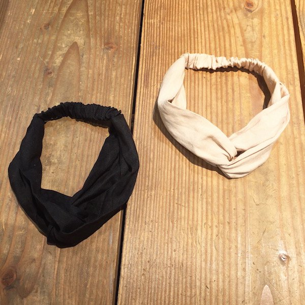 cotton simple hairband