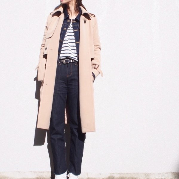 2WAY trench coat vest