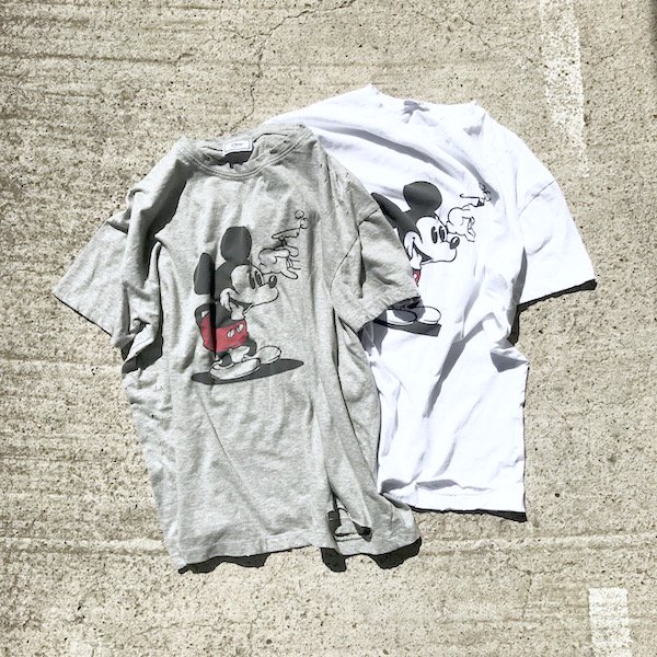 smoking mickey T-shirt